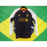 Camisa Liverpool Da Inglaterra Terceiro Uniforme Oficial
