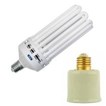 Lampada Fluorescente Flc 8u 135w Potencia 500w +soquete 127v