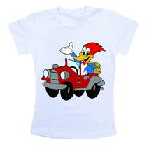 Camiseta Infantil / Criança Desenho Pica Pau