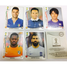 Figurinhas Fifa World Cup Brasil 2014 - Panini