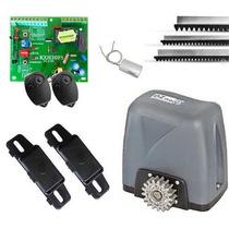 Kit Motor Deslizante Rossi Nano Turbo P/ Portão Eletrônico