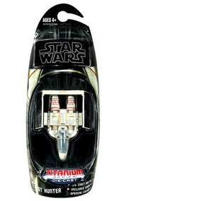 Star Wars 2010 Titanio Diecast Mini Vehículo Mi Envío Gratis