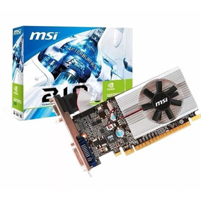 Placa De Video Geforce Msi 210 1gb Pcie Ddr3 Vga Dvi Hdmi