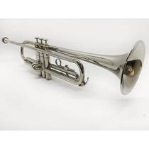 Trompete Yamaha Ytr-1310 Niquelado Made In Japan Lindo!