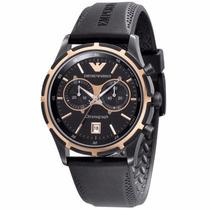 Relógio M7647 Armani Ar0584 Preto + Garantia + Caixa