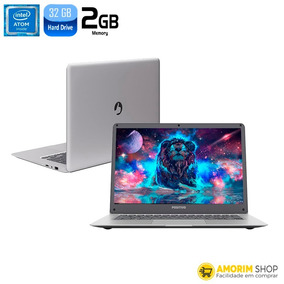 Notebook Positivo Motion Q232a Atom Z8350 2gb Hd 32gb 14