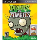 Plants Vs. Zombies Classic Ps3 Digital Gcp