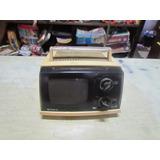 Antiga Televisão Sony De 5 Polegadas Anos 70 No Estado