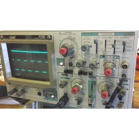 Osciloscopio Oscilos Goot 235 Doble Trazo 35 Mhz Analogico