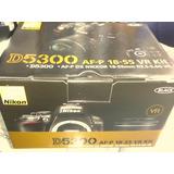Camara Nikon D5300 24.2mp Original Nueva Sellada En Caja