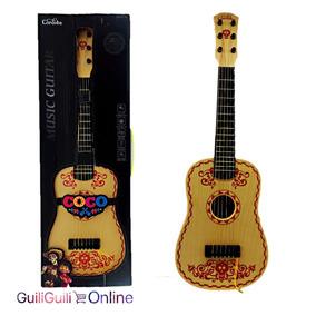 Guitarra Acustica Coco Infantil Starkids Instrumento Musical