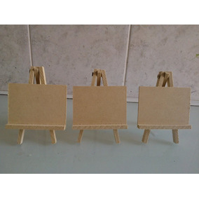 Mini Atril De Fibrofacil De 10x7 X 10 Unidades