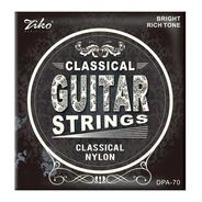 Cuerdas Guitarra Clasica Cuerda Ziko De Criolla Nylon