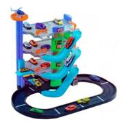 Estacion De Servicio Para Autos 4 Niveles New Plast 10630