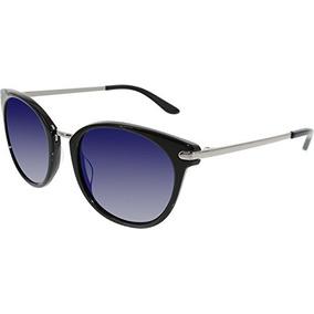 Guess Gafas De Sol De Diseño Para Mujer, Negro / Gris Azul