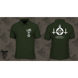 Goatmoon -polo Green Camiseta
