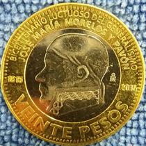 Moneda De 20pesos Jose Maria Morelos Y Pavón Envió Gratis