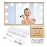 Focos Led Para Espejo De Maquillaje, Camarin X 10 Usb Oferta