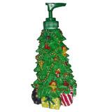 Dispensador Jabon Liquido Arbol Navidad 21cm Baño Decoracion
