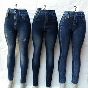 Leggins Jeans 922 ( Termica Con Forro )