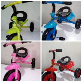 Triciclo En 4 Colores Para Niños Y Niñas