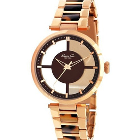 Kenneth Cole New York Womens Kc4766 Rose Gold Transparent Di