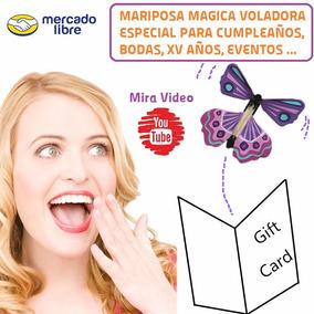 Magic Butterfly - Mariposa Magica - Regalo Cumpleaños Y Boda