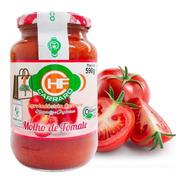 Molho De Tomate Orgânico Carraro 590g Polpa Tomate E Sal 4un
