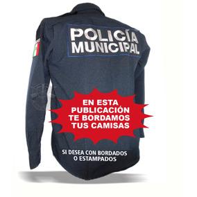 Camisa C/bordado Tipo 5.11 Tactica Bolsa Oculta Para Policía