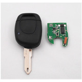 Control Carcasa +chip Electrónico Llave Renault Clio, Twingo