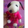 Snoopy De Peluche Vestido De San Valentin