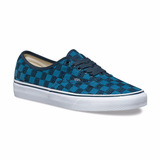 Tênis Vans Authentic Stitch Checkers Blue Masculino.