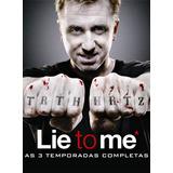 Lie To Me 1ª A 3ª Temporadas Dublado Legendado+ Frete Grátis