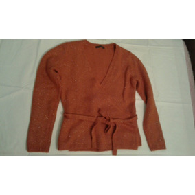 Cardigan Sweater Lana Cruzado Italiano