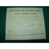 Papeleria San Nicolas Certificado Registro Civil Año 1934