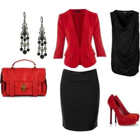 Saia+biusa+blazer Moda Evangelica E Executiva Cod#wqk