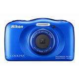 Camara Nikon Coolpix S33 Sumergible Full Hd Gtia. 12 Meses