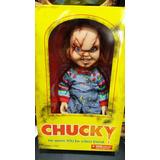 Figura Chucky Mezco 15 Pulgadas Parlante