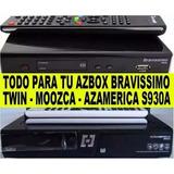 Azbox Bravissimo,azamerica S930a,transformación De 0,reparac