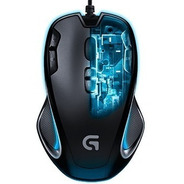 Mouse Gamer Logitech G300s 9 Botones Usb Gaming 910-004344