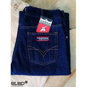 Camisa Os Vaqueiros Masculino - Calças Masculino Azul no Mercado ... 47bc4af6920