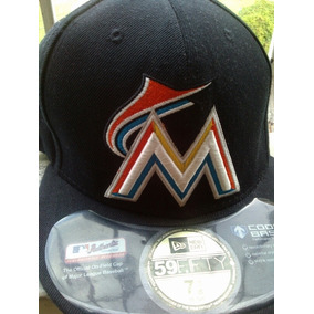 Gorra Plana Miami Marlins New Era Original fedc06387d9