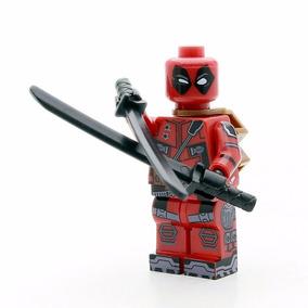 Miniatura Lego Action Figure Tropa Deadpool