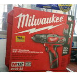 Taladro Inalambrico Recargable 12v Milwaukee