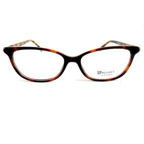 fbb45bbb866c1 Óculos De Grau Feminino Bulget Bg 4098 G21 Lente 5,3 Cm