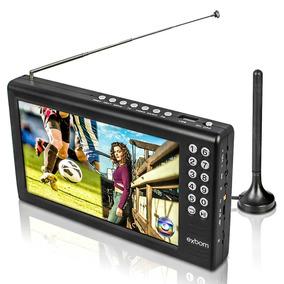Mini Tv Digital Portátil 7 Exbom Mtv-70a
