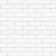Papel De Parede Adesivo 3d Tijolo Branco Sala Quarto 2,60m