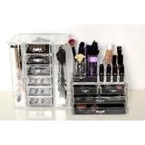 Set Organizador De Accesorios_maquillaje_cosméticos_brochas