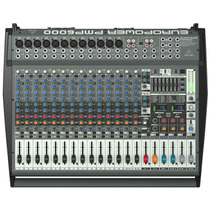 Mesa De Som Amplificada Behringer Europower Pmp6000 Pmp 6000
