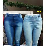 Calças Jeans Femininas Tamanho Grande No Atacado Kit C/ 3